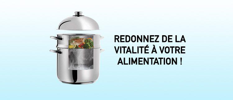 Donnez de la vitalité à vos aliments !