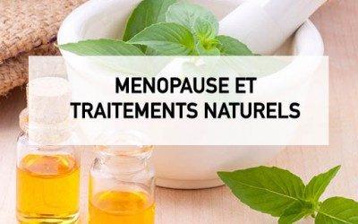 Traitements naturels pour la ménopause