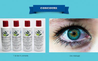 Concours : Gagne une iridologie et 1×4 liniments !