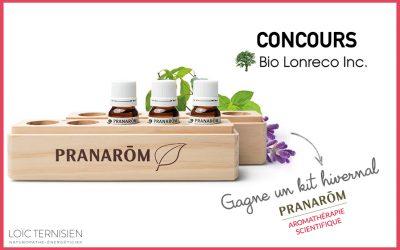 Gagne ton kit d'aromathérapie Pranarôm pour l'hiver